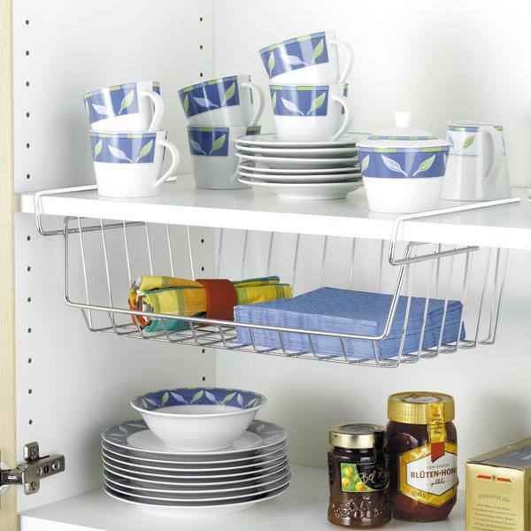 44x15x27 cm cesto organizador de armarios wenko 2304100 - Organizador de armarios ...