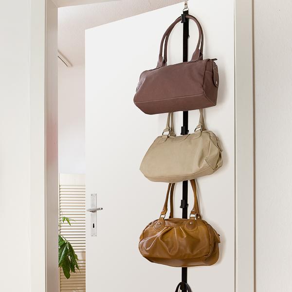 colgador de bolsos para puerta wenko 8225